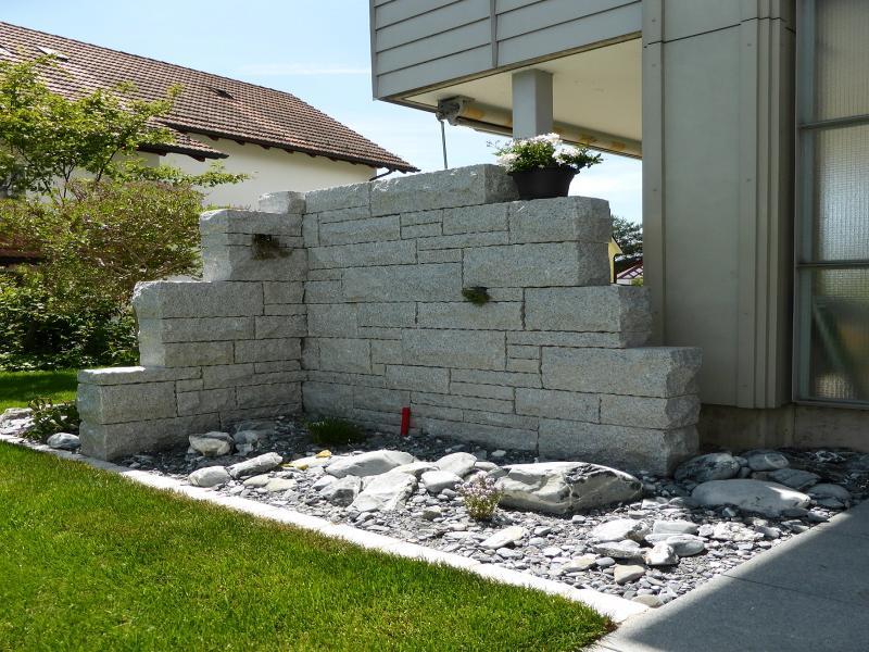 Moser gartengestaltung ihr partner f r den gesamten gartenbereich gartengestaltung - Garten steinmauer gabione ...